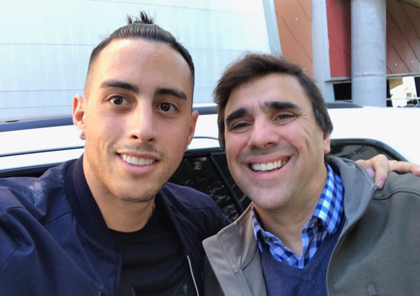 Ramiro Funes Mori and Carlos