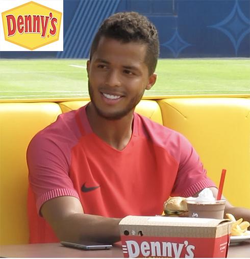 Denny's, Gio dos Santos