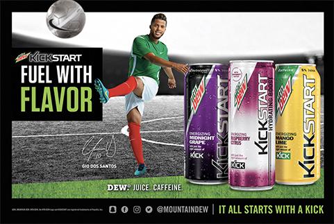 MtnDew Kick Start, Gio dos Santos