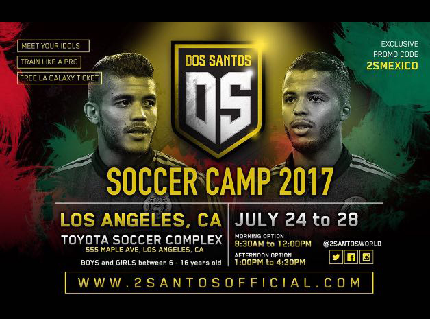 Soccer Camp 2017, Gio and Jonathan dos Santos
