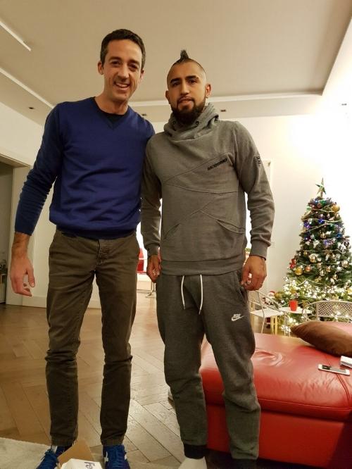 Mariano Brignole & Arturo Vidal