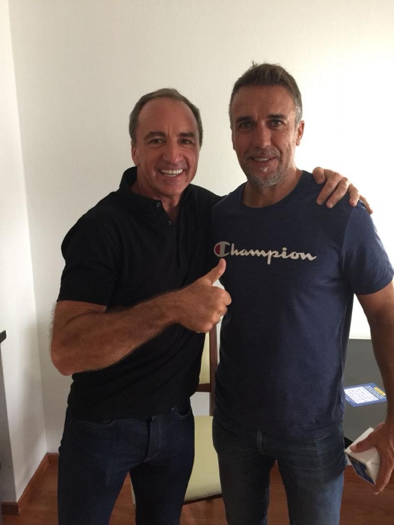 Dario Brignole & Gabriel Batistuta
