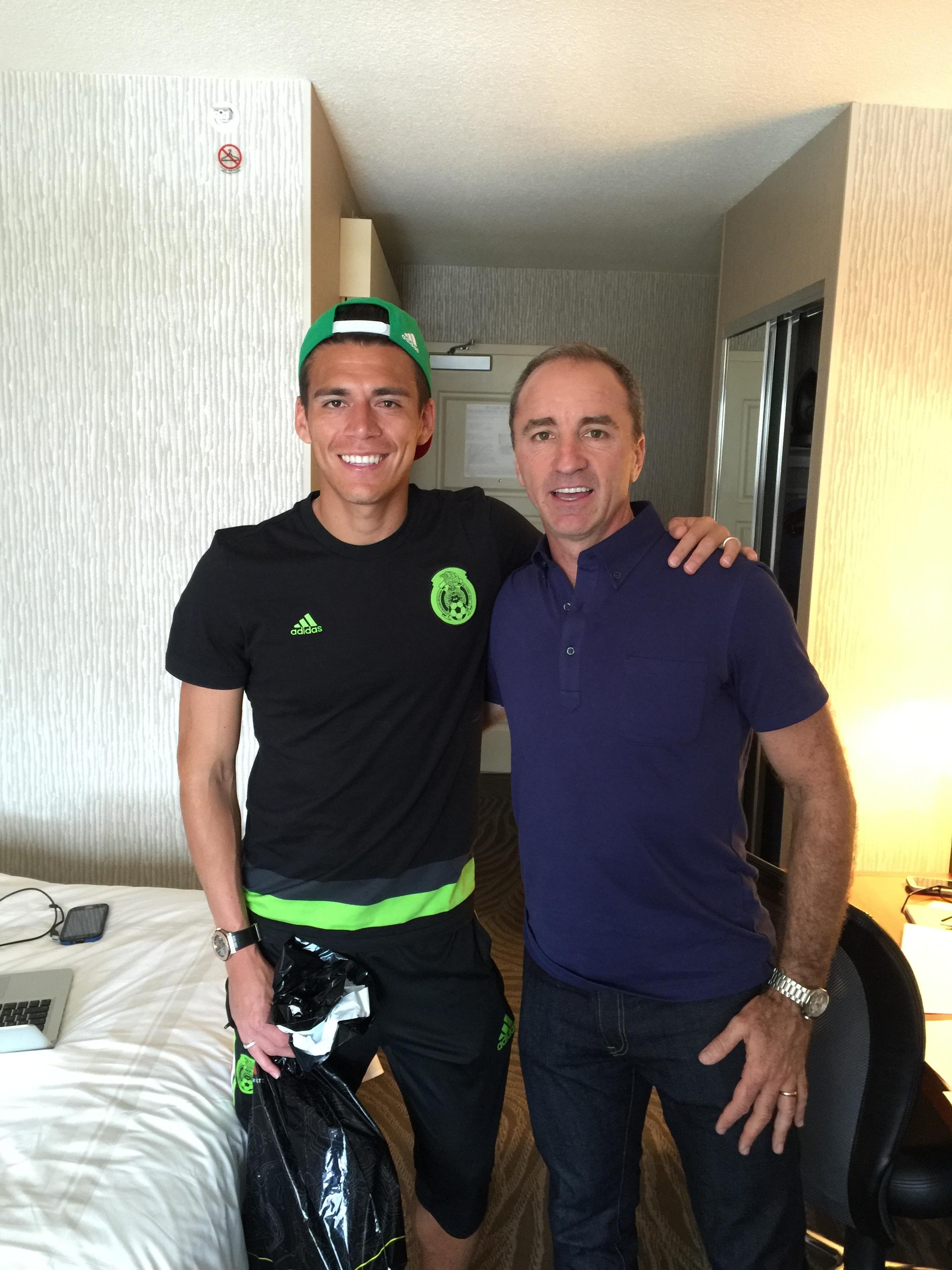 Hector Moreno y Dario Brignole