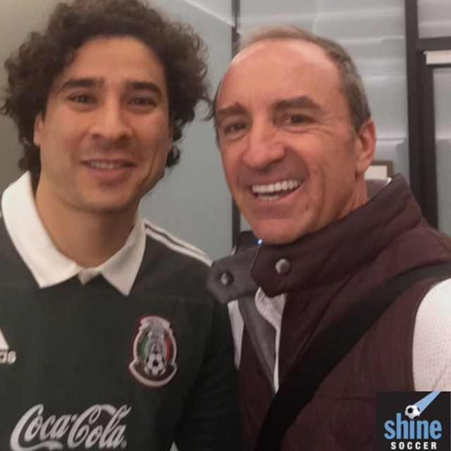 With a great friend and Client! @yosoy8a. - - - - - #shine__news #soccer#futbol #sponsored #sponsorship #endorsment