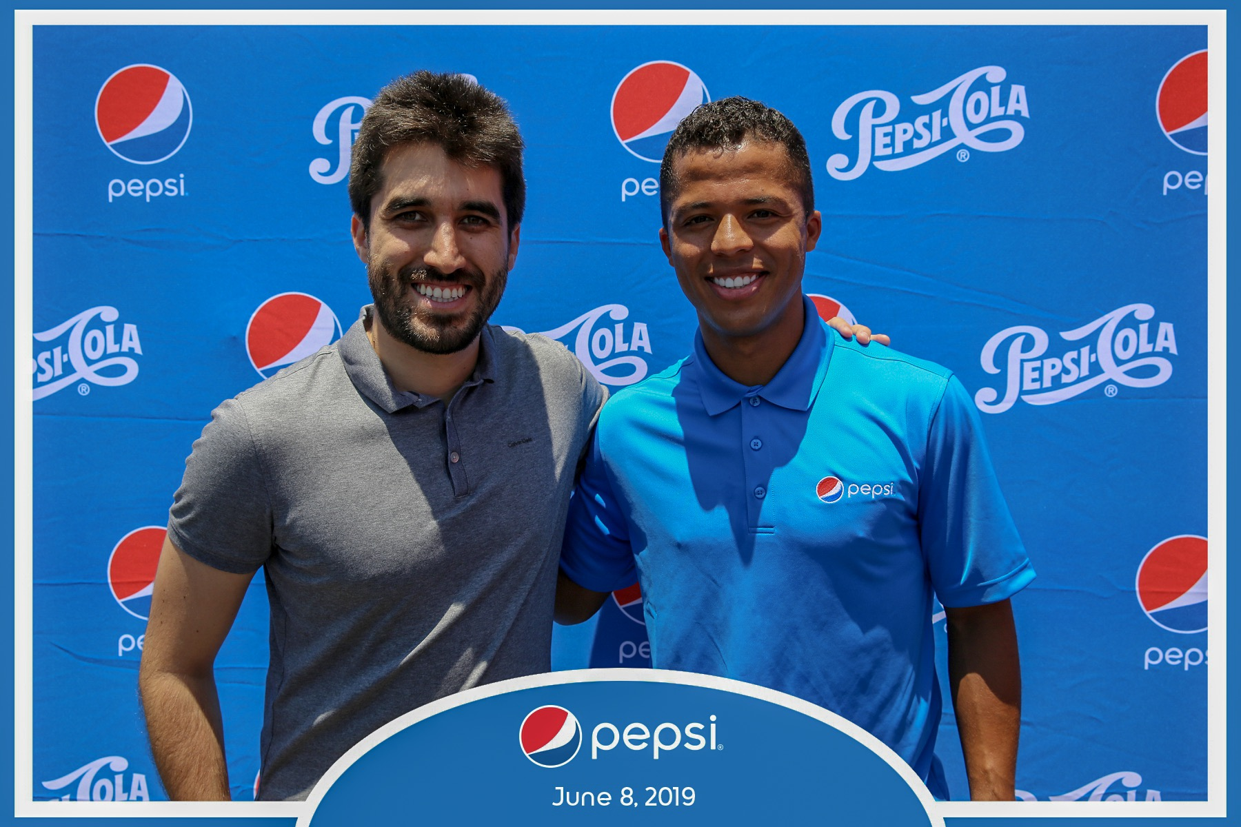 Giovani dos Santos - Pepsi Meet & Greet Los Angeles & Dallas