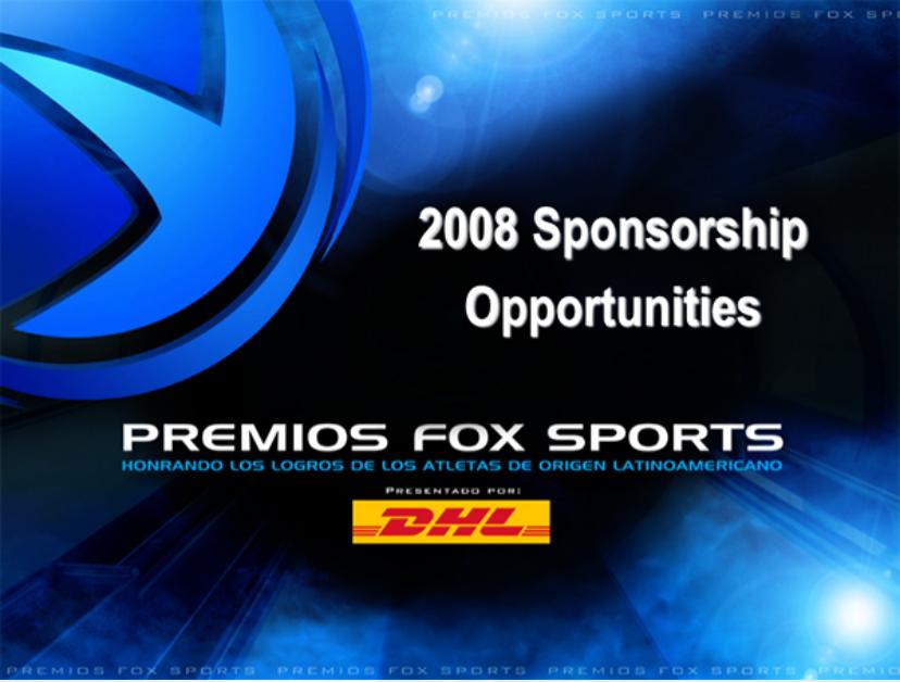 Premios Fox Sports - DHL