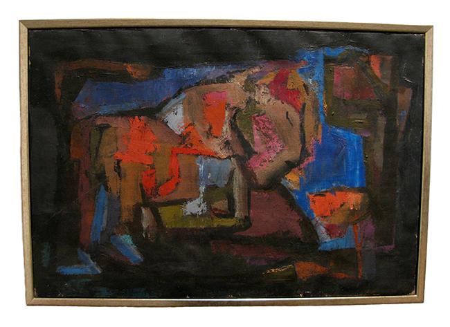 Edith Bry, oil on canvas: Sold