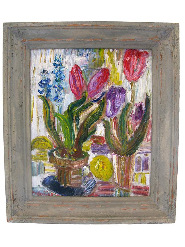 Floral still life: $600