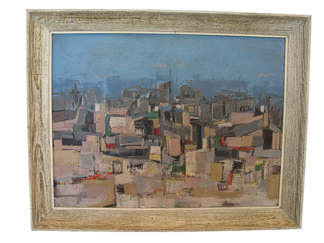 Abstract city scape: Sold