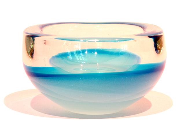 4in art glass