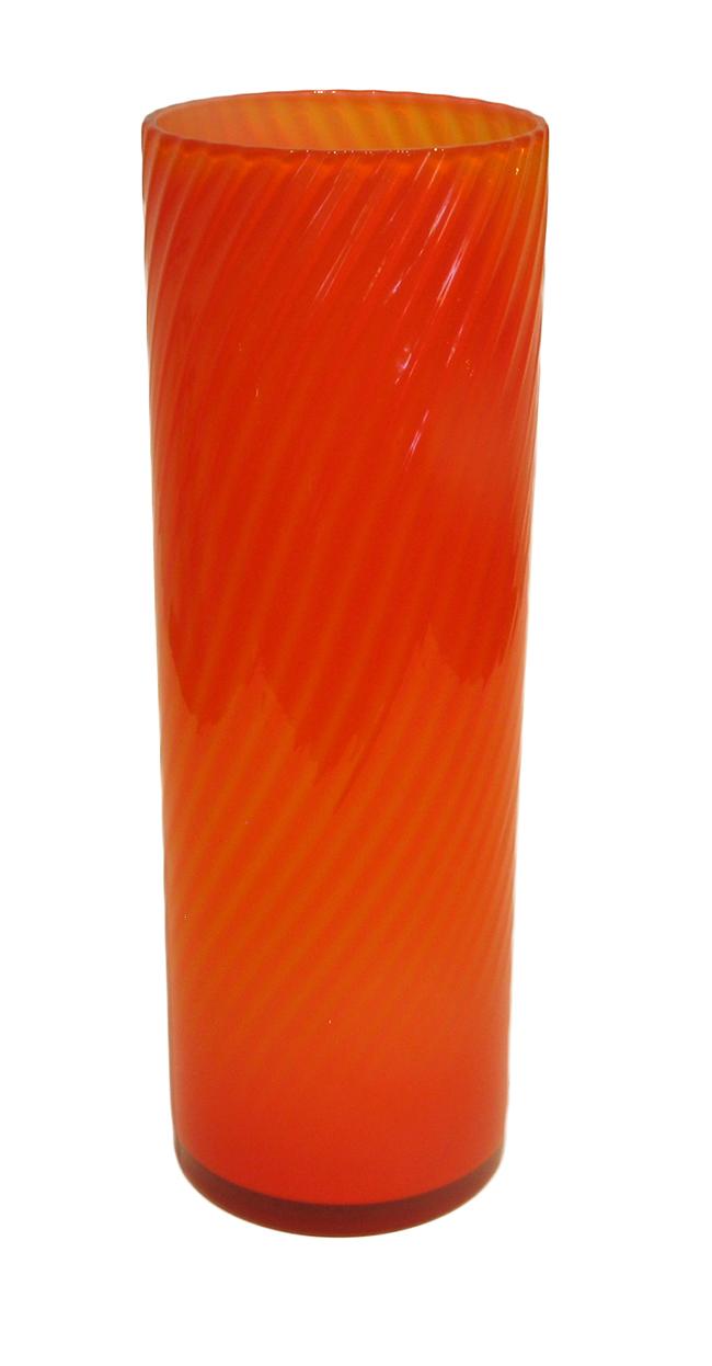Elme glassworks tall vase