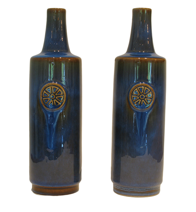 Soholm stoneware vase by maria philippi