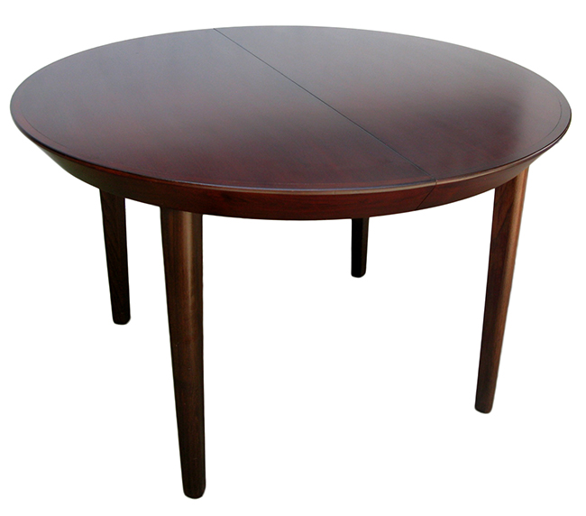 Rosewood dining table - By appointment: $1600