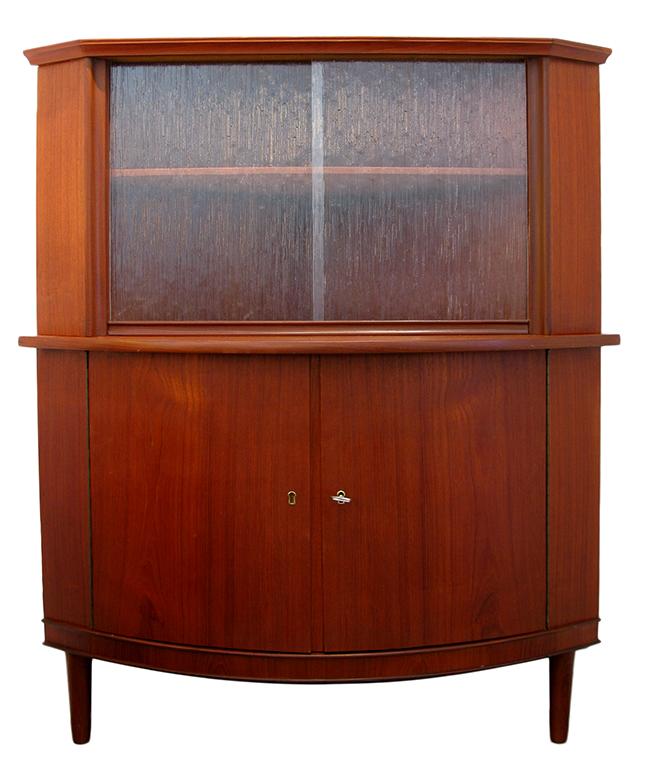 Scandinavian Corner Cabinet