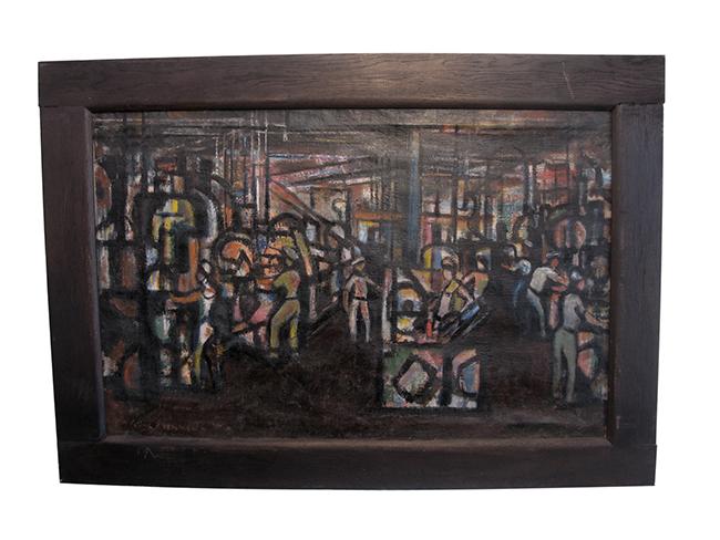 WPA painting by Irving Lehman: $1860