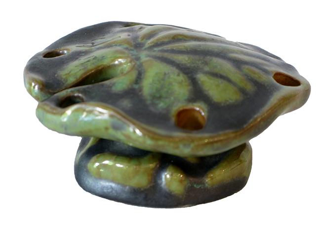 Ceramic flower frog: $20