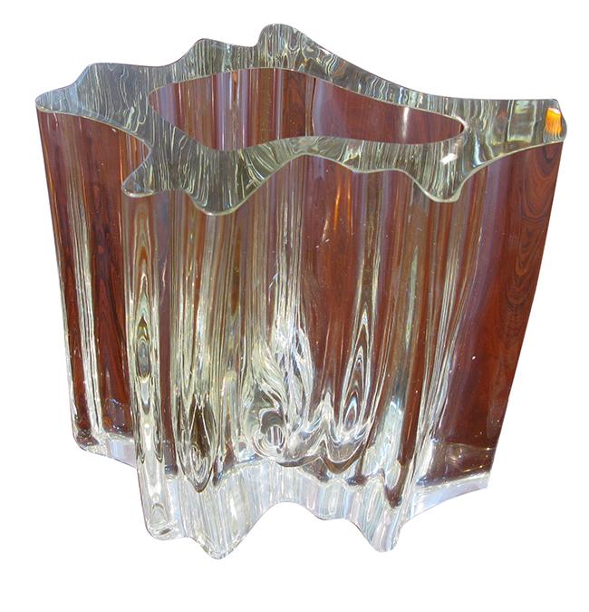 Organic art glass: Sold