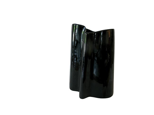 Organic ceramic vase: $80