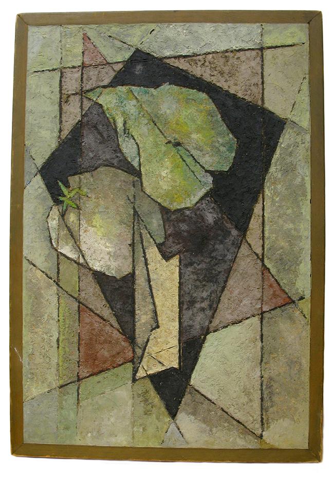 Cubist Still Life: $590