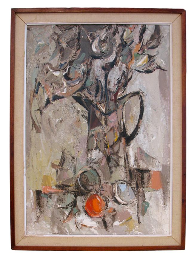 Floral Still Life: $590