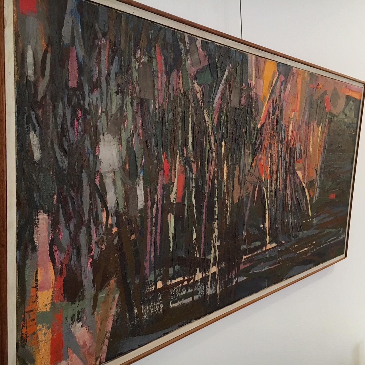 John Maakestad, oil on canvas: $1600
