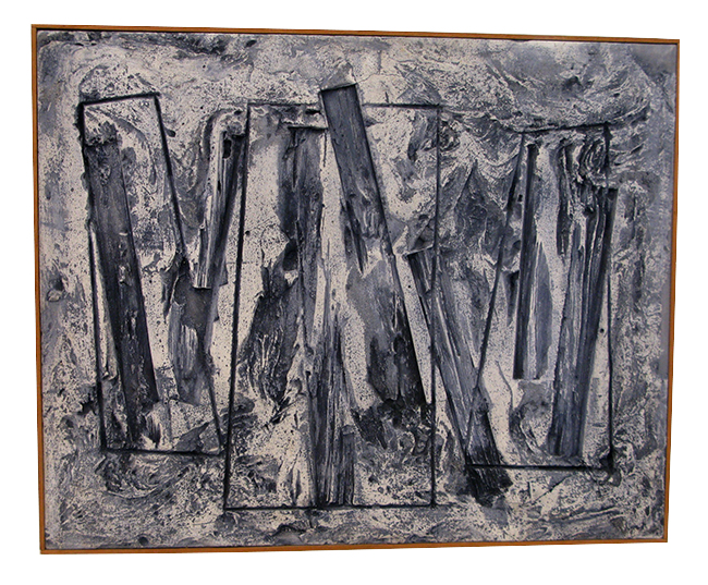 Harry Bouras abstract: $1700