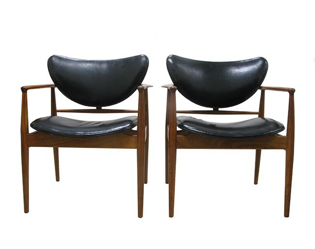 Finn Juhl Arm Chairs