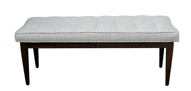Walnut bench: $990