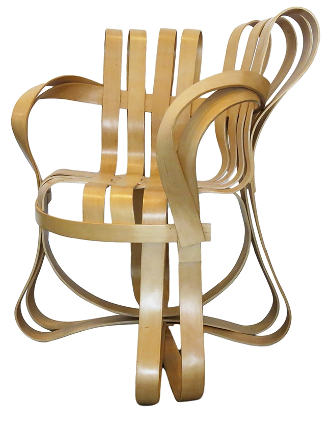 Frank Gehry chairs: $2200 each