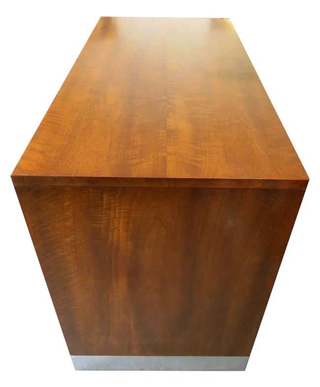 Milo Baughman walnut and rosewood cabinet - mid century modern atlanta.jpg