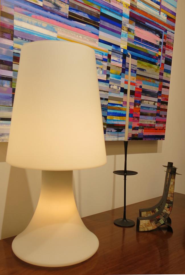 Murano glass table lamp - Italy.jpg