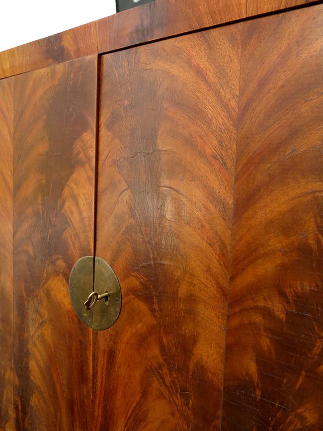 Flamed mahogany bar top doors.jpg