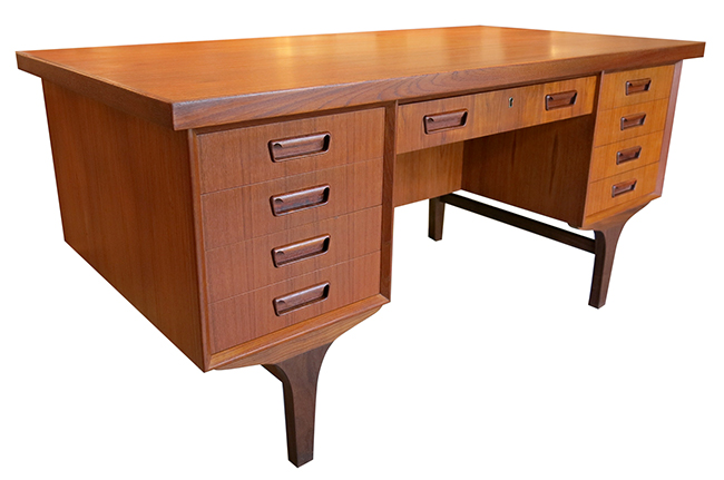 Four sided Danish desk in teak.jpg