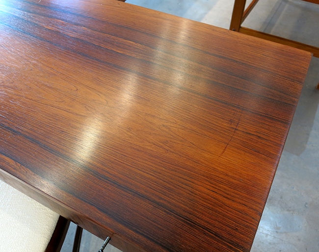 Rosewood writing desk - mid century furniture Atlanta.jpg