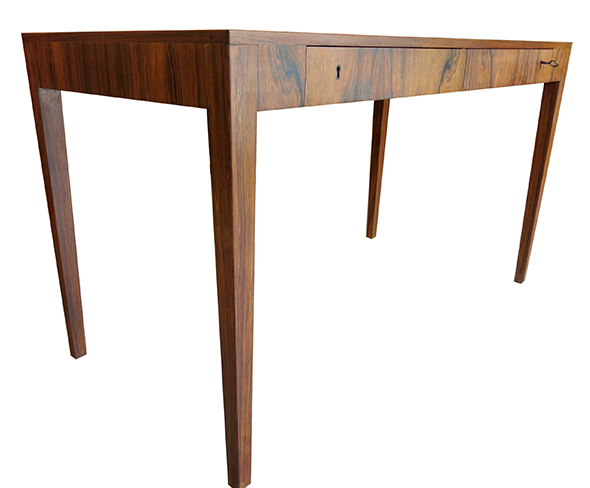 Writing desk in rosewood - Modern furniture Atlanta.jpg