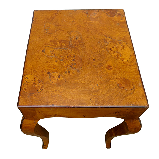 Burlwood side table - mid century furniture Atlanta.jpg