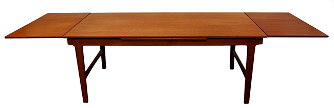 X-Long teak dining table: $1800