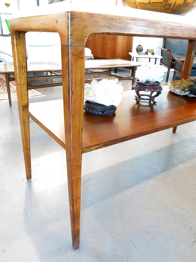Extra long console with Italian marble top - mid century modern atlanta.jpg
