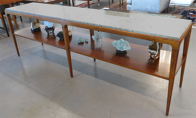 Walnut console with marble top.jpg