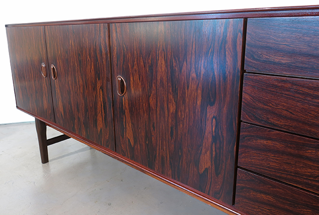 Rosewood credenza 1970's - front detail.jpg