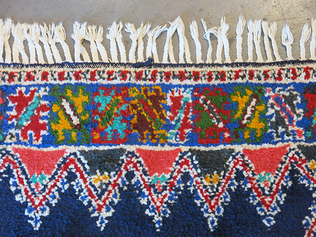 Moroccan rug blue - Mid Century Modern Atlanta.jpg