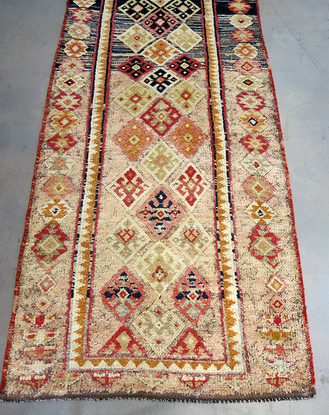Turkish runner tribal - mid century modern Atlanta.jpg