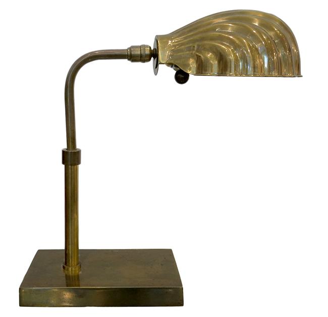 Brass desk lamp - Vintage modern Atlanta.jpg