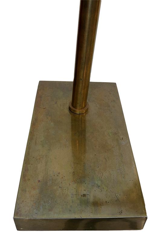 Brass desk lamp base - mid century modern Atlanta.jpg