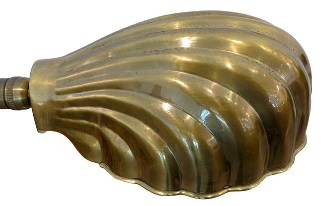 Desk lamp brass - vintage modern Atlanta.jpg