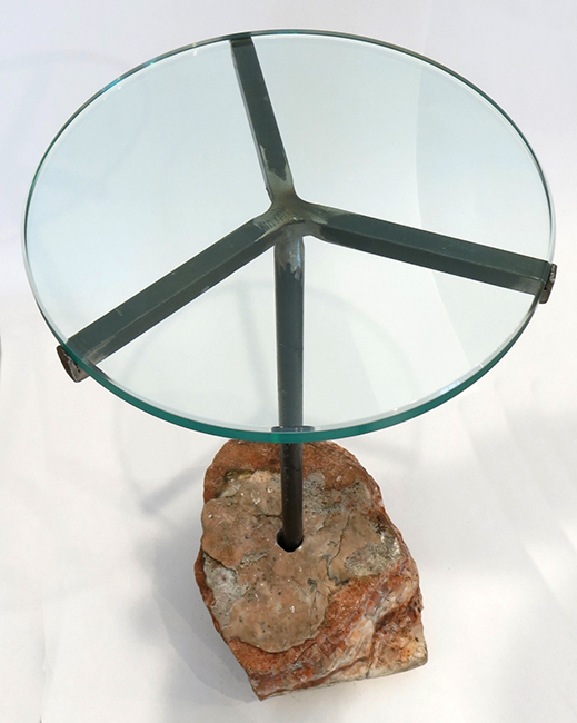 Pink rock table in raw aventurine.jpg