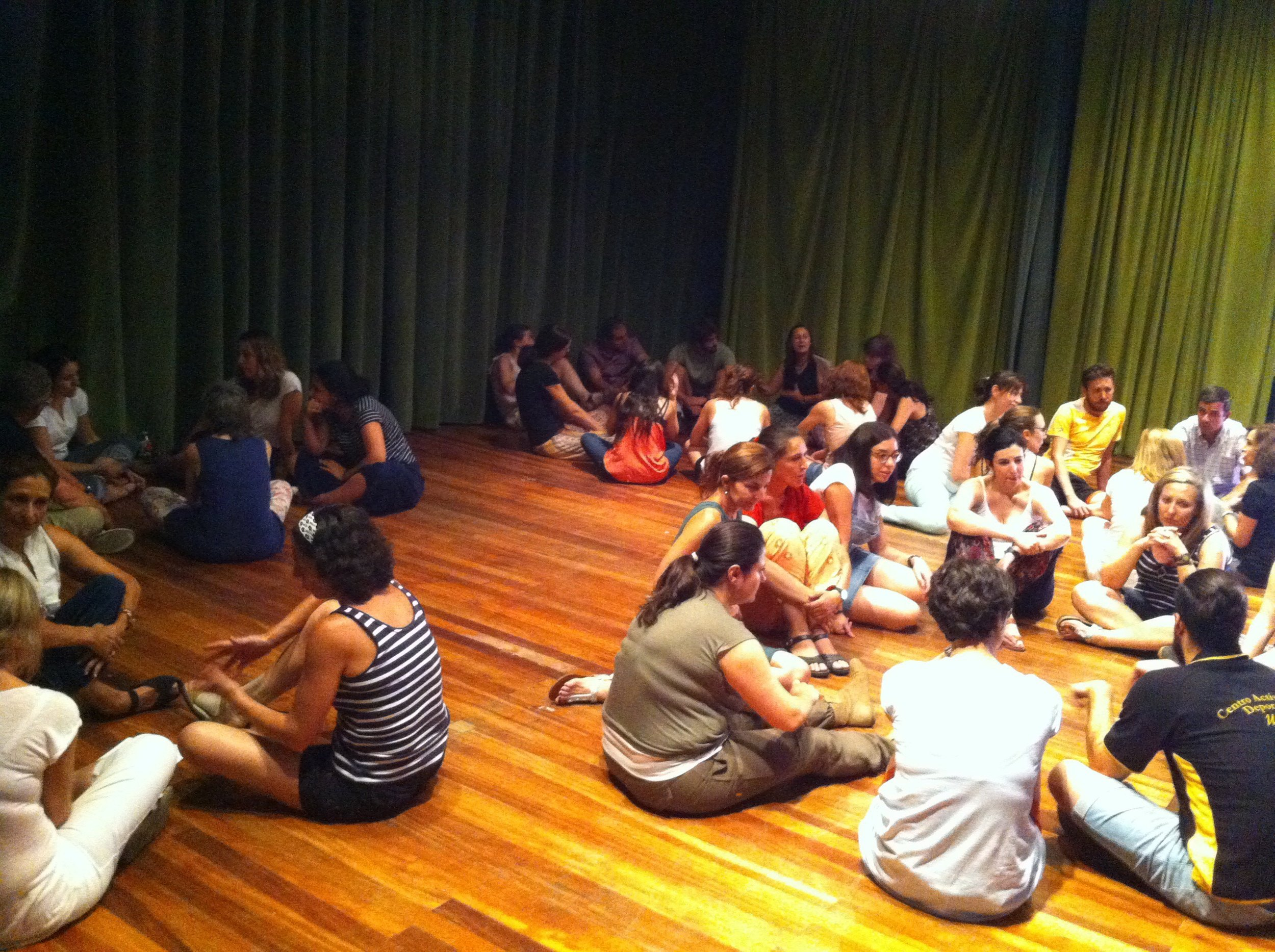 Teacher training workshop for teachers interested in using elements of drama in their classes.