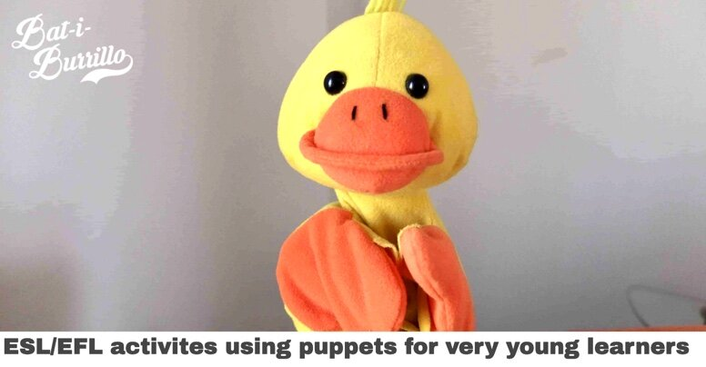 Some ideas on how to use puppets with early years