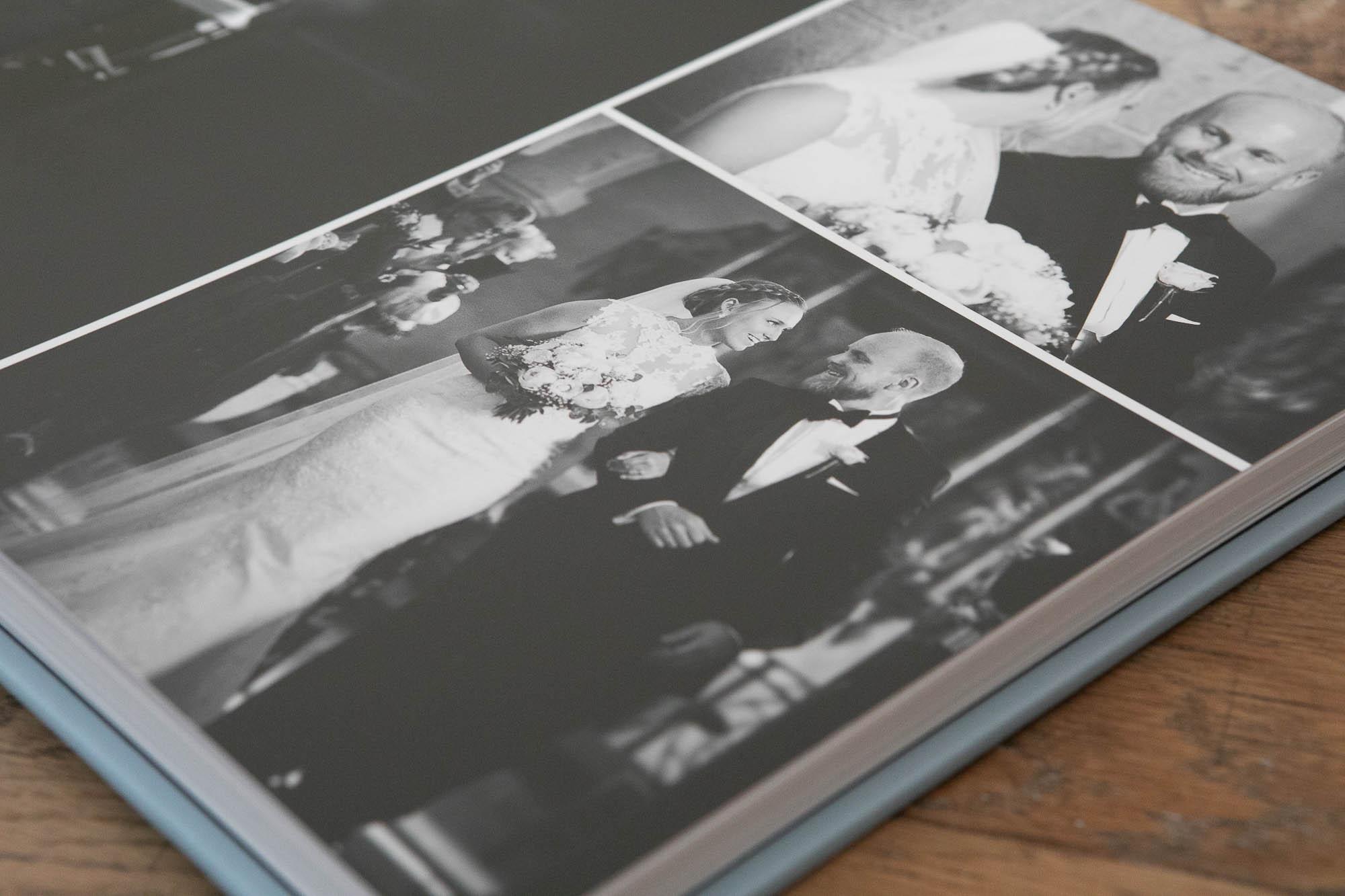 album opslag sorthvid