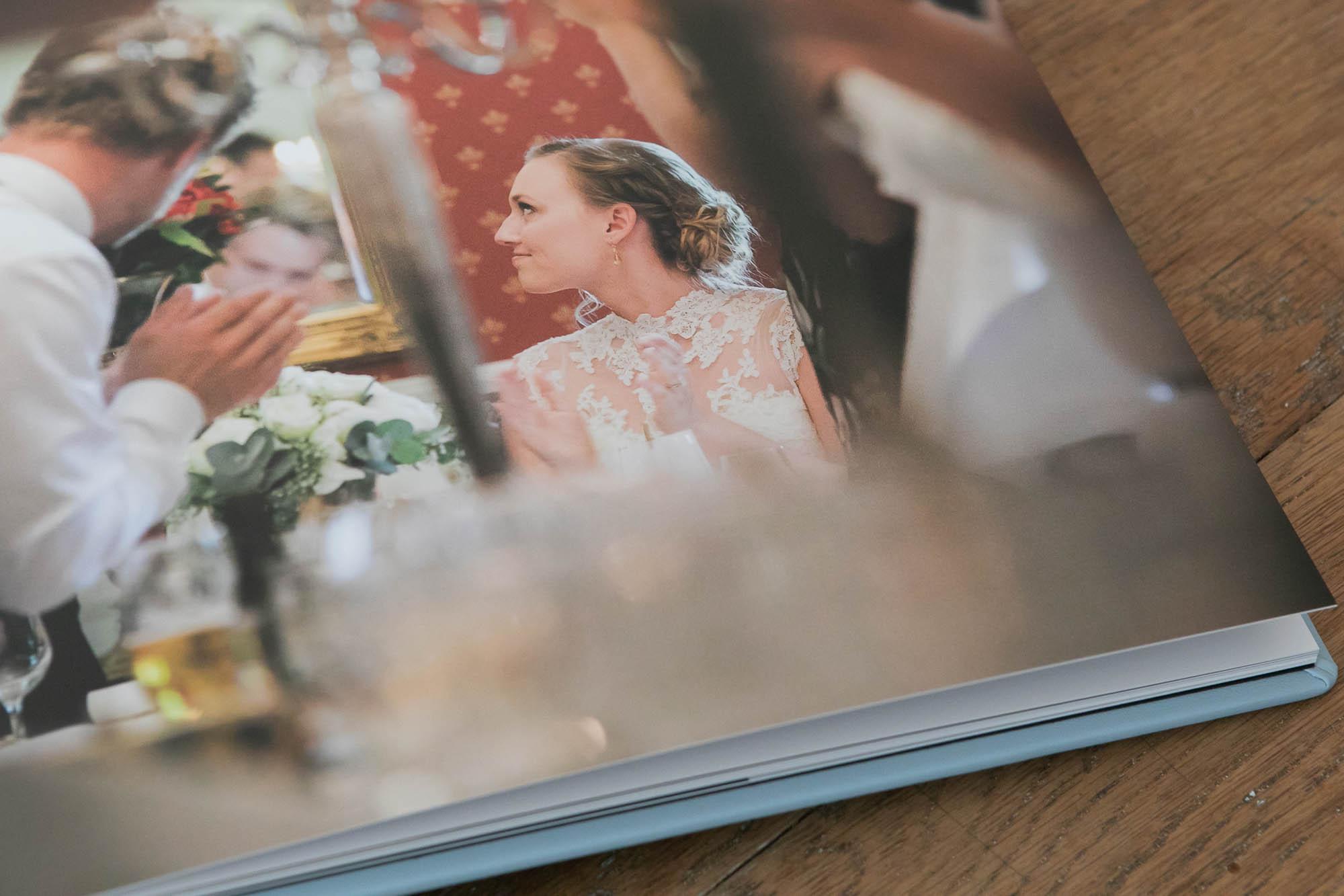 fotoalbum bryllup detalje